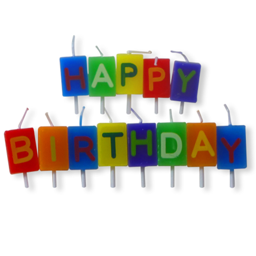 happy birthday letters happy birthday letters buy candles dot shop 14976