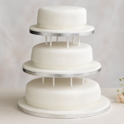 wedding cake stand malaysia three 3 tier undecorated cakes buy candles dot shop 25637